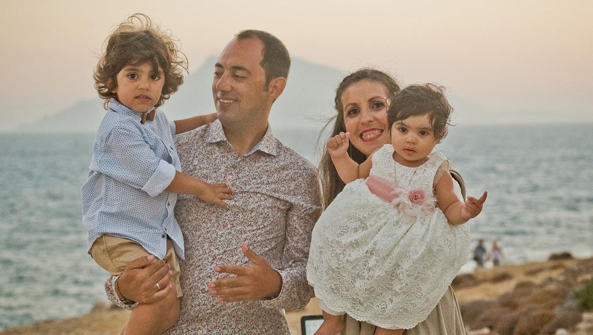Rita Papageorgiou & Giorgos Pachoulis Family